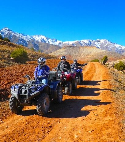 Quad Biking From Marrakech