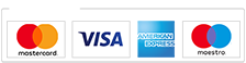 we accept payment by paypal and all major credit cards