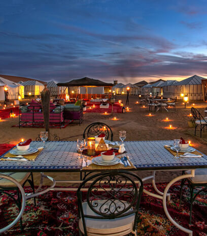 Luxury Desert Camp in Merzouga